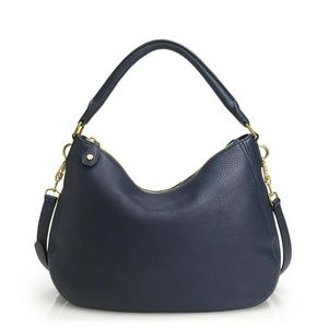 J. Crew Biennial Navy Hobo Bag